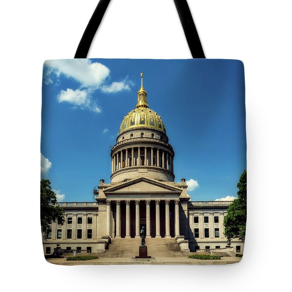 West Virginia Capitol - Charleston Tote Bag by L O C