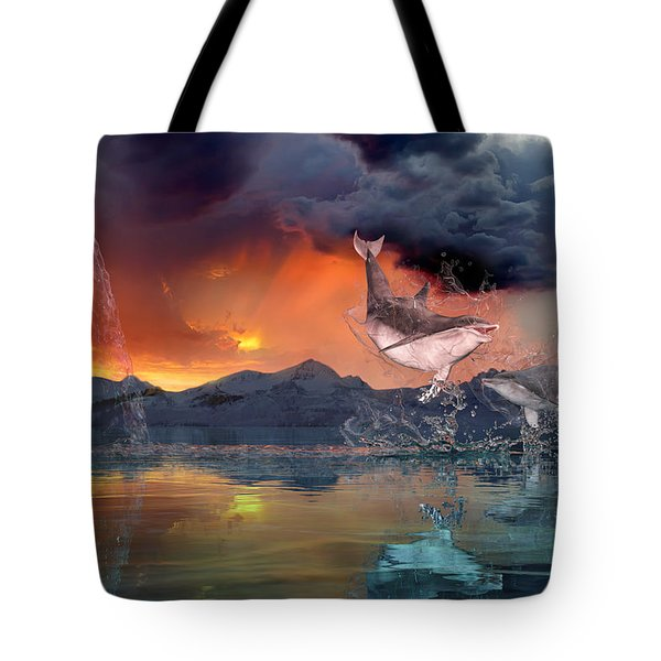 West World Tote Bag