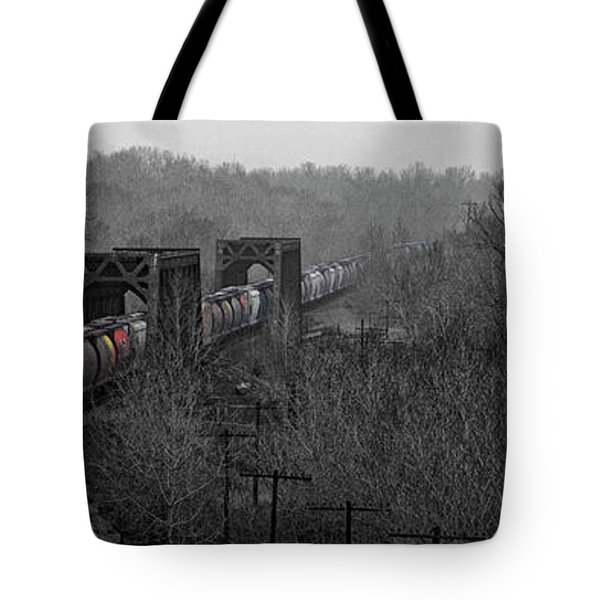 Westbound Grain Tote Bag