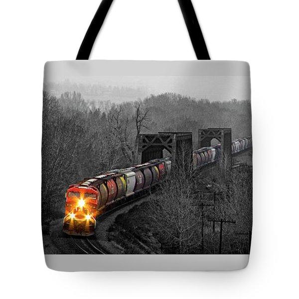 Westbound Grain Tote Bag by Brad Allen Fine Art