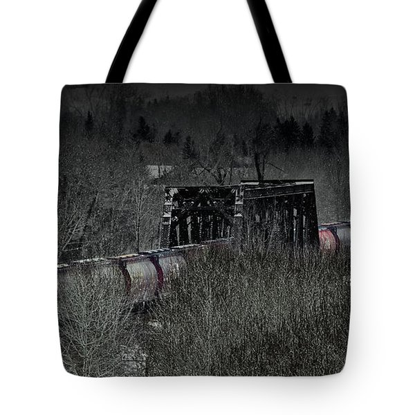 Westbound Grain II Tote Bag by Brad Allen Fine Art