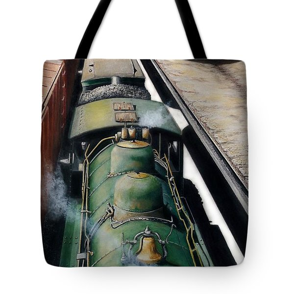 Eastbound To The Mountains Tote Bag