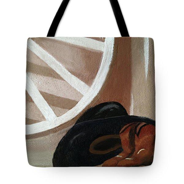 Western Art Work For Luke Tote Bag