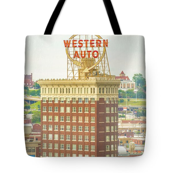 Western Auto Tote Bag