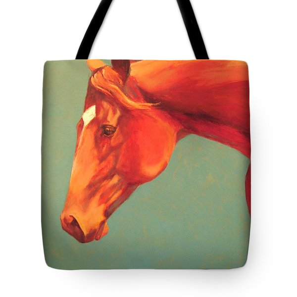 Tote Bag featuring the painting Western Champion by Pam Talley