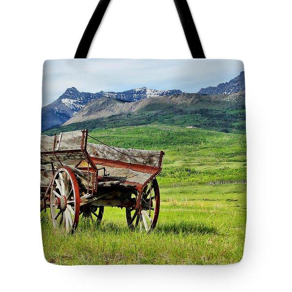 Western Exposure Tote Bag