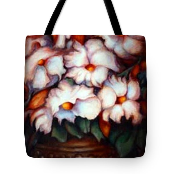 Western Flowers Tote Bag
