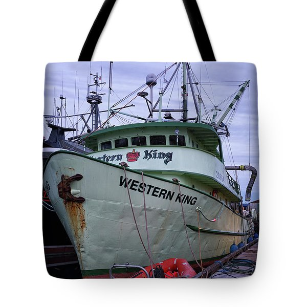 Tote Bag featuring the photograph Western King At Discovery Harbour by Randy Hall