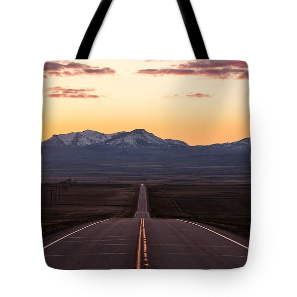 Western Morning Commute Tote Bag