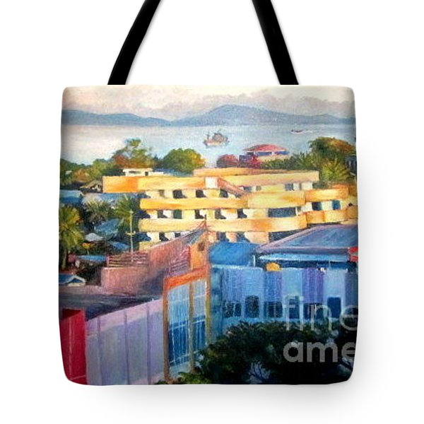 Western Part Of Sorong Town Tote Bag
