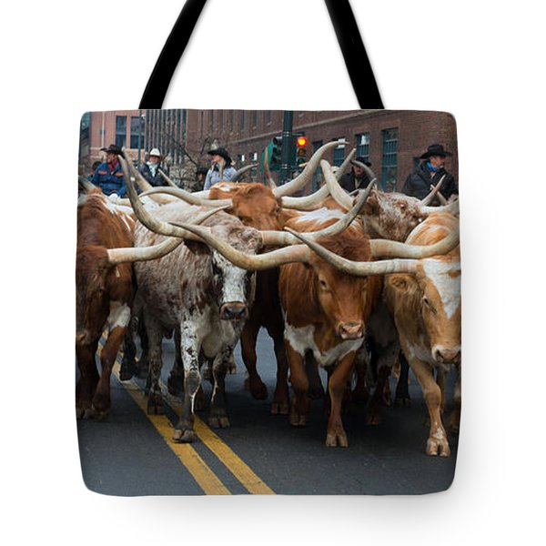 Western Stock Show Tote Bag
