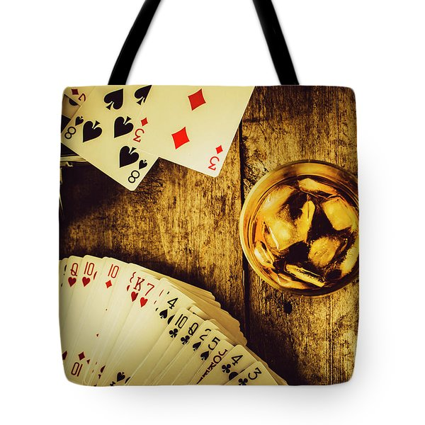 Western Straight Shooter  Tote Bag