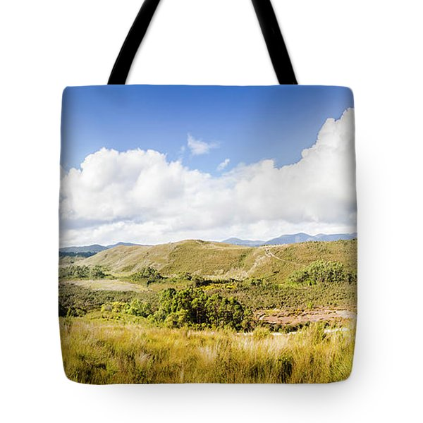 Western Tasmania Panorama Tote Bag