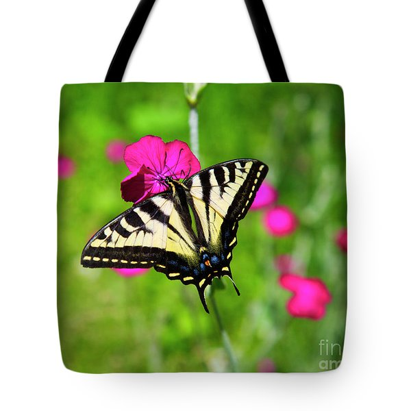 Western Tiger Swallowtail Butterfly Tote Bag