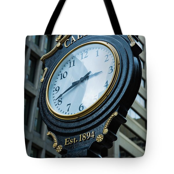 Western Time Tote Bag