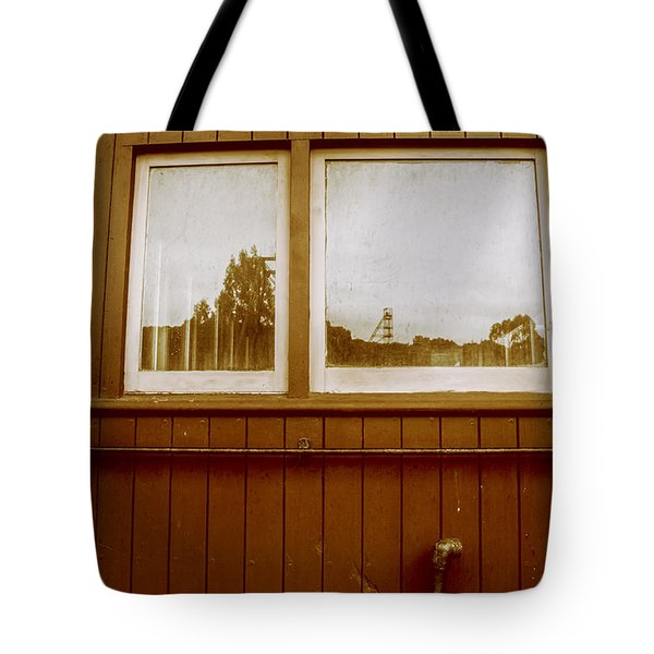 Western Train Wagon Tote Bag