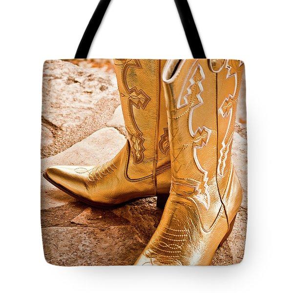 Western Wear Tote Bag by Jill Smith