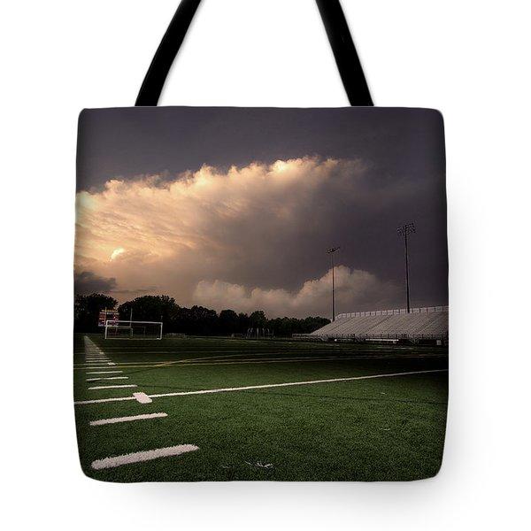 Westerville North Warrior Stadium Tote Bag