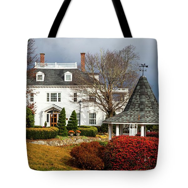 Westglow In Autumn Tote Bag by Karen Wiles