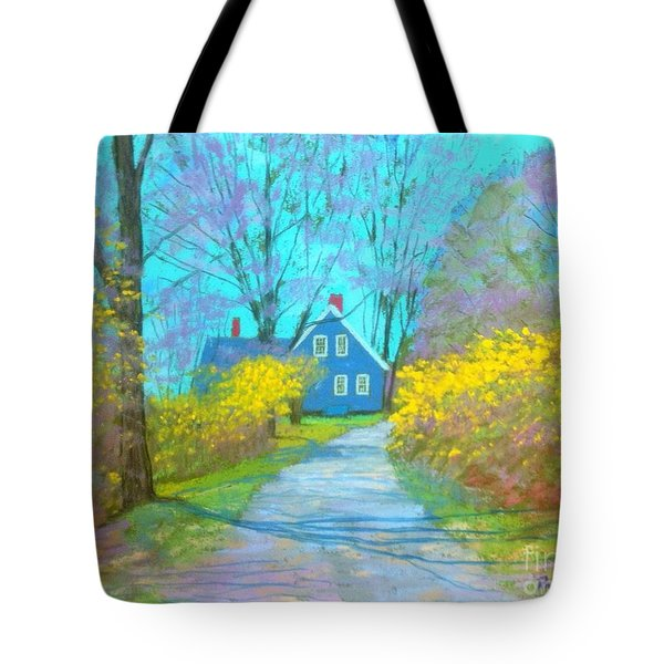 Westhaver Road  Tote Bag