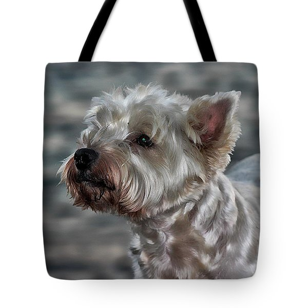 Westie Love Tote Bag