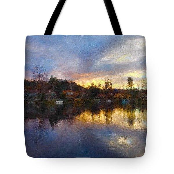 Westlake California  Tote Bag by Jan Cipolla