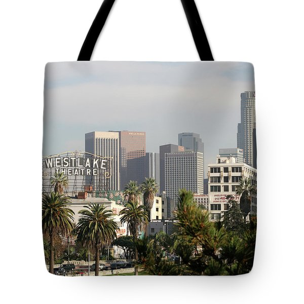 Westlake, Los Angeles Tote Bag