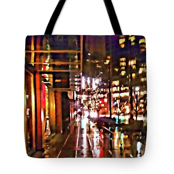 Westlake Rain Tote Bag