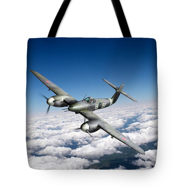 Tote Bag featuring the photograph Westland Whirlwind Portrait by Gary Eason