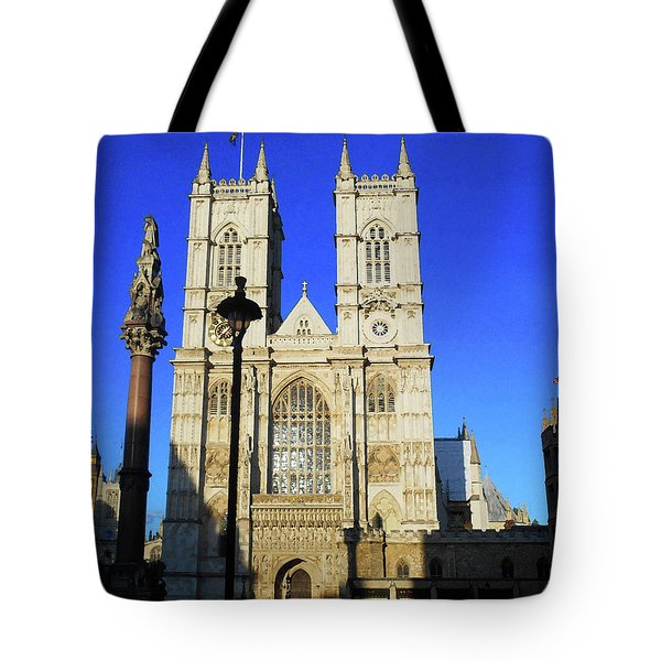 Westminster Abbey London England Tote Bag