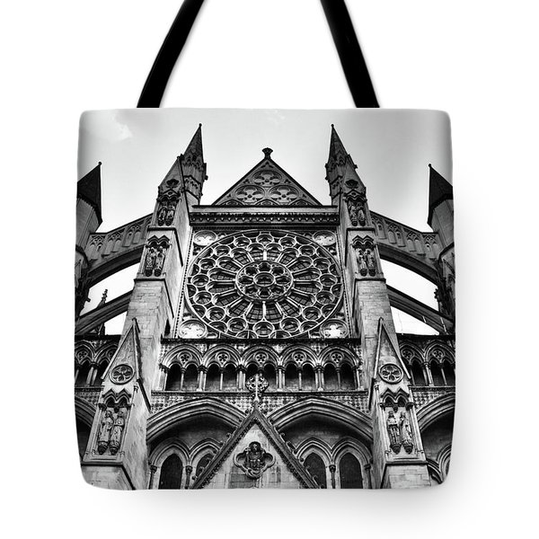 Westminster Abbey London Tote Bag