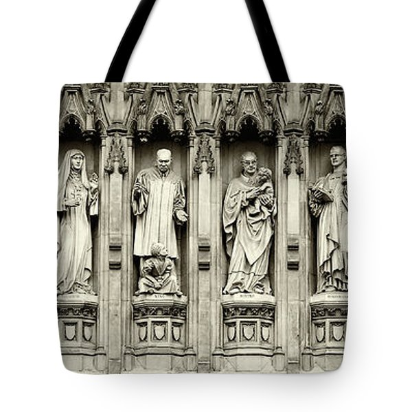 Tote Bag featuring the photograph Westminster Martyrs Memorial - 1 by Stephen Stookey