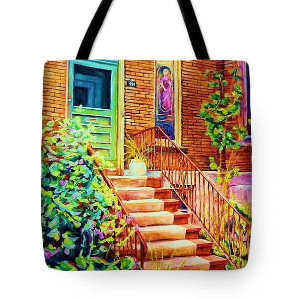 Westmount Home Tote Bag by Carole Spandau