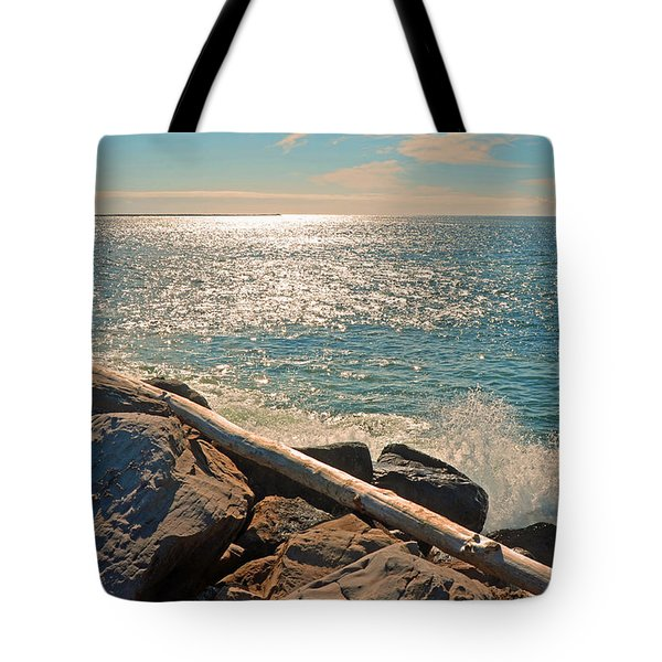 Westport Waves 2 Tote Bag