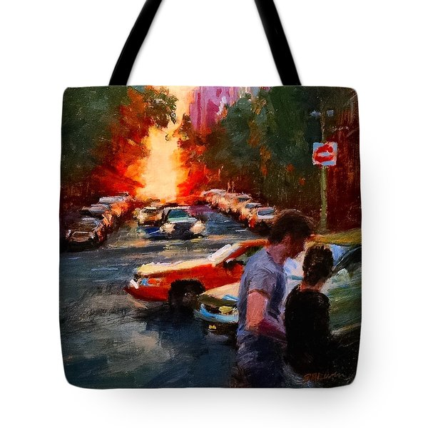 Westside Sunset No. 3 Tote Bag