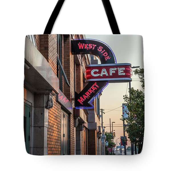 Westsidemarketcafe Tote Bag