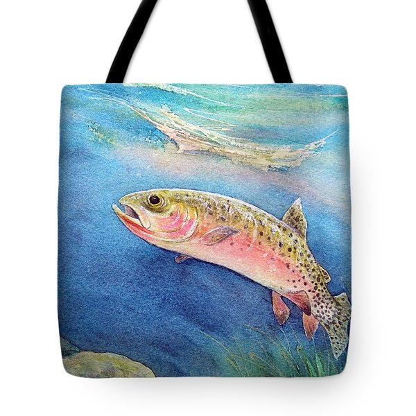 Westslope Cutthroat Tote Bag by Gale Cochran-Smith