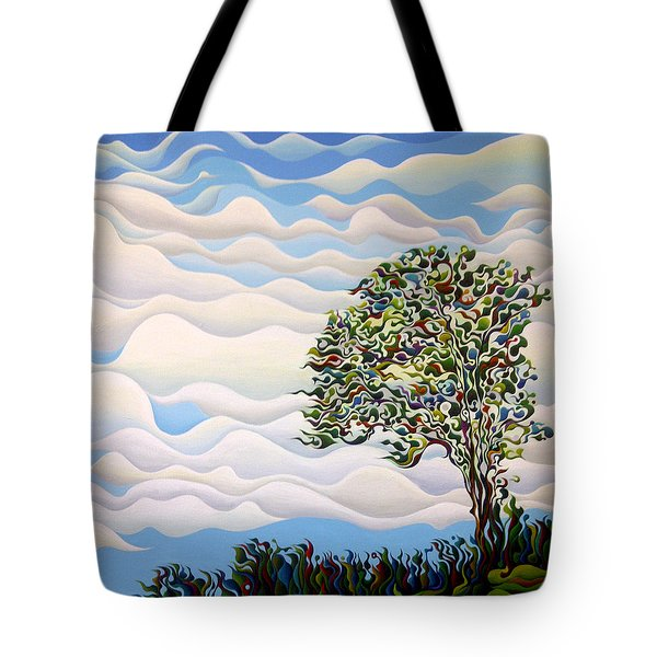 Westward Yearning Tree Tote Bag