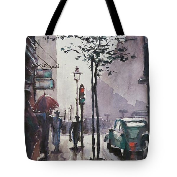 Wet Afternoon Tote Bag