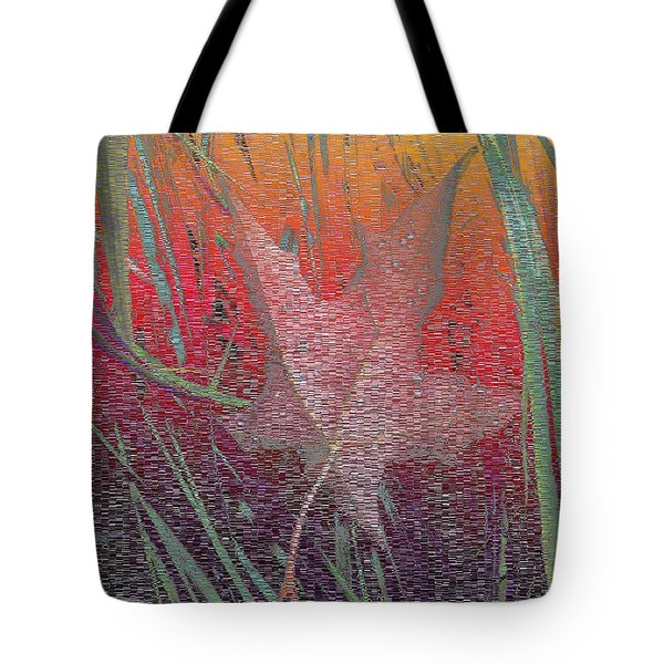 Wet And Wild Autumn Tote Bag by Tim Allen
