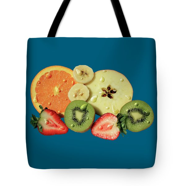 Tote Bag featuring the photograph Wet Fruit by Shane Bechler