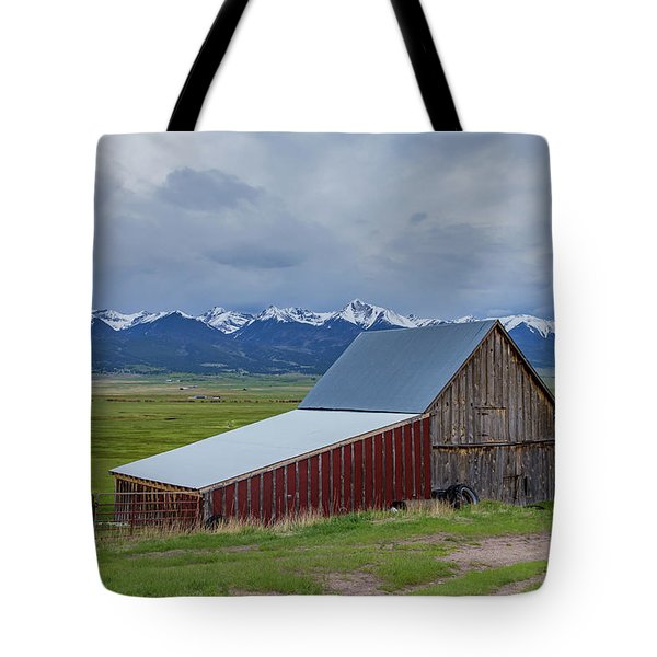Wet Mountain Valley Barn Tote Bag