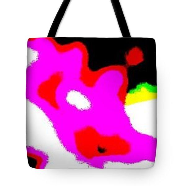 Wet Petals Tote Bag