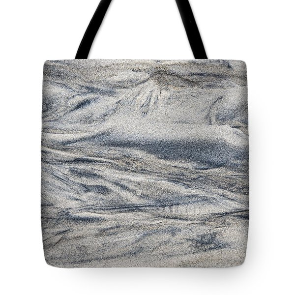 Wet Sand Abstract I Tote Bag