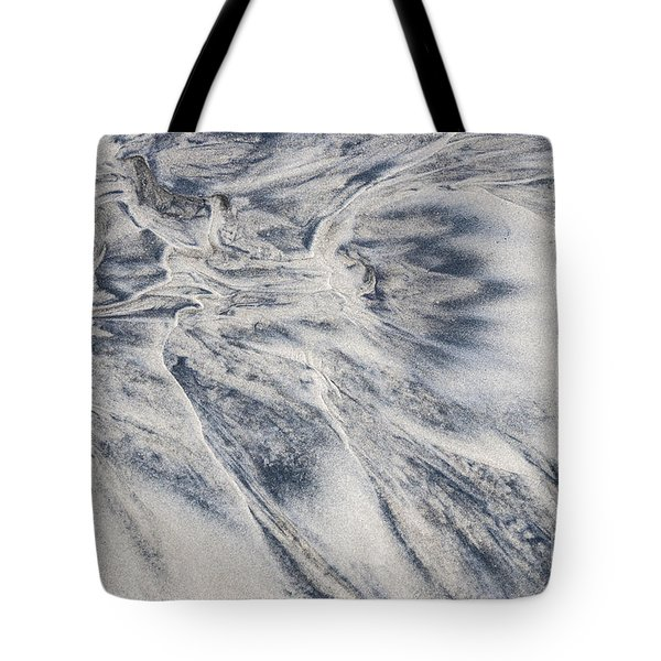 Wet Sand Abstract II Tote Bag