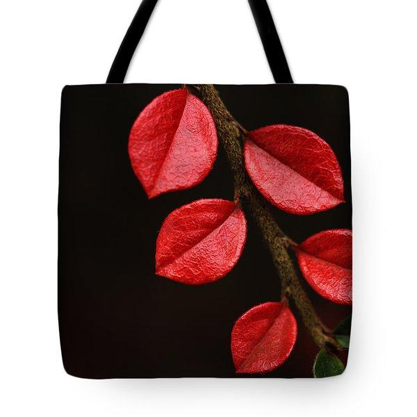 Wet Scarlet Tote Bag