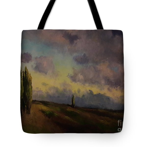 Wet Sky Tote Bag