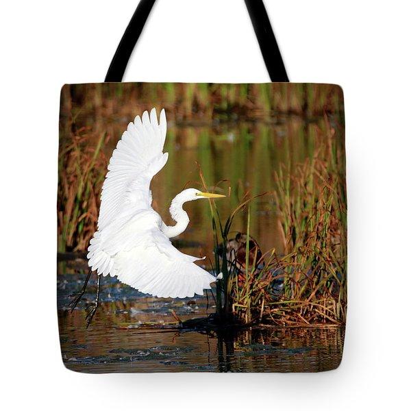 Wetland Landing Tote Bag
