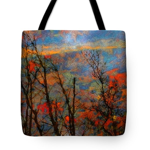 Wetland Reflections 49 Playful Tote Bag