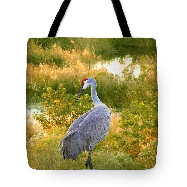 Wetland Splendor Tote Bag
